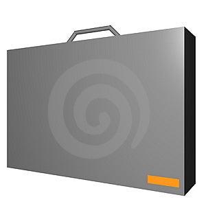 Aktentasvoorwerp Voor Diagram En Presentatie Royalty-vrije Stock Fotografie - Afbeelding: 4182497