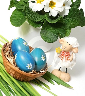 Easter Motive Royalty Free Stock Image - Image: 4183806