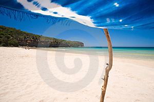 Beach Paradise Royalty Free Stock Photos - Image: 4189488