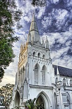St Andrew Kathedraal Royalty-vrije Stock Afbeeldingen - Afbeelding: 4192909