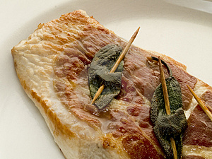 Saltimboca Romana Royalty Free Stock Photography - Image: 4195547