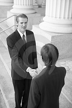 Business Handshake Stock Images - Image: 4197914