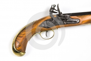 Antique Pistol 2 Stock Photo - Image: 421270