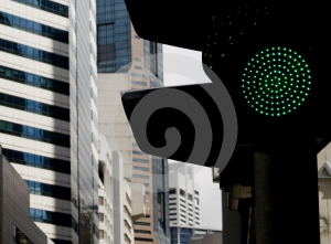 Green Light for Business Royalty Free Stock Images