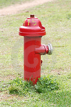 Red Fire Hydrant Stock Images - Image: 4202554