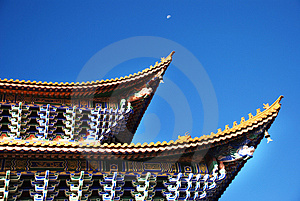 Double Eaves And Dougong Royalty Free Stock Photo - Image: 4205215