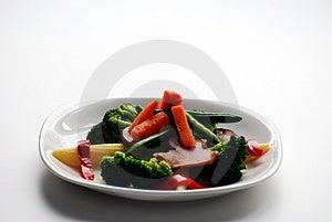 Placa de verduras Imagen de archivo