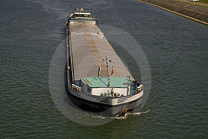 Boat On Rhine Stock Photo - Image: 4210030