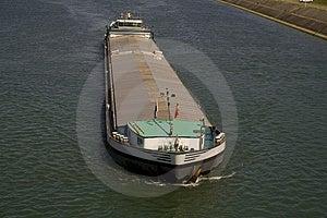 Boat On Rhine Stock Photo - Image: 4210030