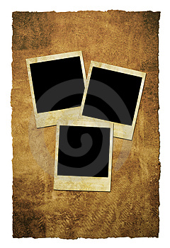 Grungy Instant Film Frames Royalty Free Stock Photography - Image: 4212527