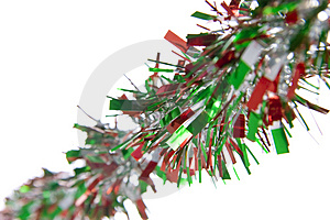 Holiday Tinsel Stock Photography - Image: 4212842