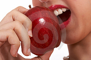 Delicious Red Apple Stock Image - Image: 4216861