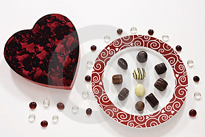 Chocolate Love Royalty Free Stock Photo - Image: 4220265