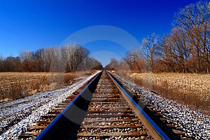 Rail Highway Stock Photography - Image: 4220862