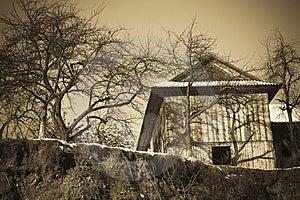 Vintage House Stock Image - Image: 4220961