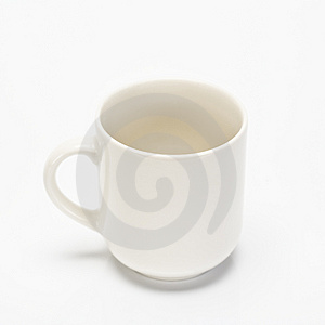 Empty Coffee Cup Stock Images - Image: 4222364
