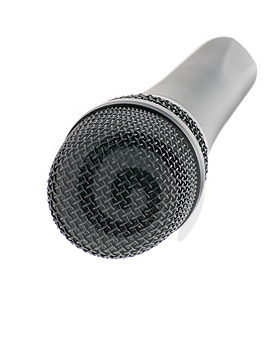 Microphone Perspective Royalty Free Stock Photos - Image: 4226458
