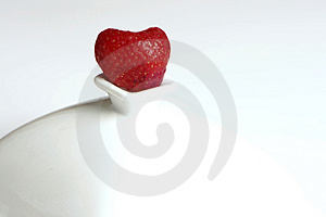 Strawberry Heart Royalty Free Stock Image - Image: 4226816