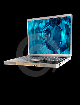 Laptop Computer Royalty Free Stock Images - Image: 4227489