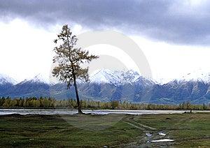 Barguzin Ridge Stock Image - Image: 4241231