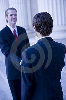 Bedrijfshanddruk Royalty-vrije Stock Afbeelding - Beeld: 4256046