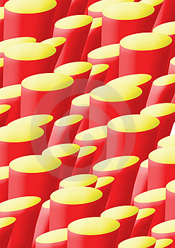 A4 Background Red And Yellow Stone Bases Stock Images - Image: 4257664
