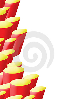 A4 Half Background Red And Yellow Stone Bases Stock Image - Image: 4257671