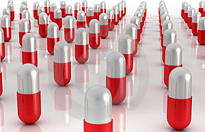 A world of Pills Stock Photos