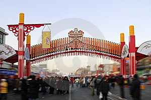 The Temple Fair Of Beijing. Stock Photography - Image: 4260592