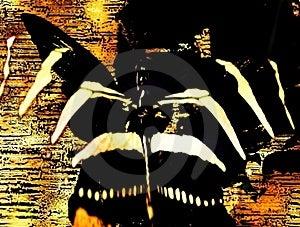 Grungy Art Stock Photos - Image: 4262493