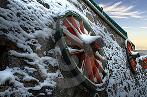 Carriage Wheels Stock Photos - Image: 4266343
