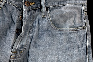 High Detailed Old Jeans Stock Images - Image: 4266974