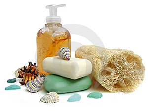 Spa cleanliness Royalty Free Stock Images