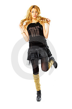Fashion Model Royalty Free Stock Photo