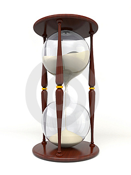 Hourglass Royalty Free Stock Photo