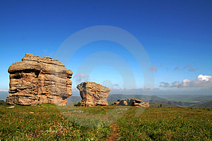 Stones Of Hasituha Stone Forest Royalty Free Stock Photo - Image: 4277155