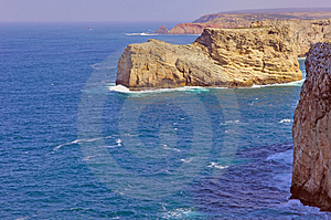 Portugal, Algarve, Sagres: Wonderful Coastline Stock Image - Image: 4280821