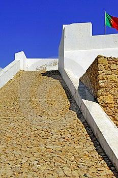 Portugal, Algarve, Sagres: Fortification Stock Images - Image: 4280854