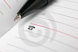 Pen Close Up Royalty Free Stock Images - Image: 4283119
