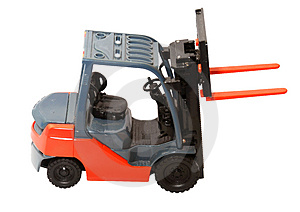 Forklift Free Stock Images