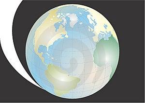Terra Do Planeta No Universo Imagens de Stock - Imagem: 4297134