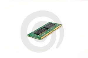 Laptop Ram Memry Chip Stock Photos - Image: 435073
