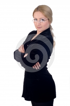 Business Woman Royalty Free Stock Photo - Image: 437485