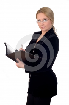 Business Woman Stock Image - Image: 437491