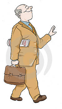 Business Man Royalty Free Stock Image - Image: 4301196
