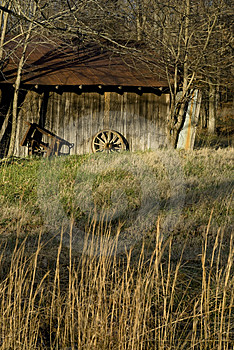Vintage Barn Royalty Free Stock Photography - Image: 4301477