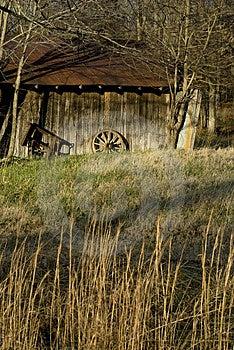 Vintage Barn Royalty Free Stock Photography - Image: 4301477
