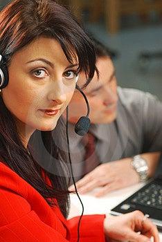 Operator Stock Photos - Image: 4305643