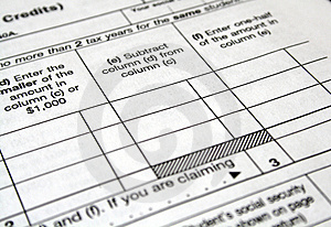 Tax Forms Stock Photo - Image: 4307310