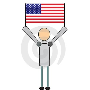 American Citizen Stock Image - Image: 4308761